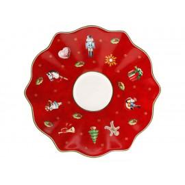Villeroy & Boch Plato para Taza de Moka Rojo Toy's Delight - Envío Gratuito