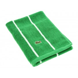 Lacoste Toalla para Manos Verde Sport Stripe Glade - Envío Gratuito
