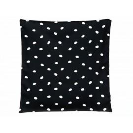 Funda para cojín Home Sweet Home Dots negra - Envío Gratuito