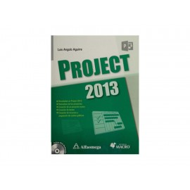 Project 2013 con CD - Envío Gratuito