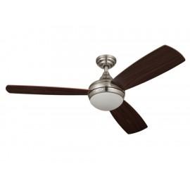 Ventilador para techo 52 pulgadas Estevez 46702 níquel - Envío Gratuito