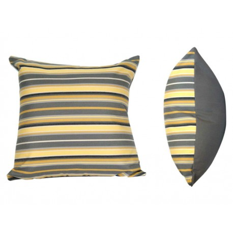 Foster Cojín Decorativo Estampado Amarillo - Envío Gratuito
