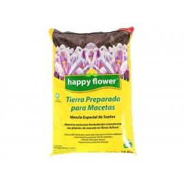 Tierra preparada para macetas Happy Flowers 10 Kilogramos - Envío Gratuito
