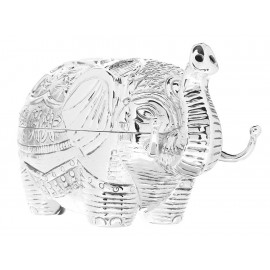Ballesteros Alhajero Plata Elefante Repujado - Envío Gratuito