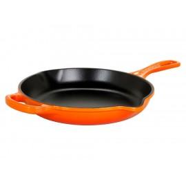 Le Creuset Skillet con Asa 23 cm Naranja Flame - Envío Gratuito