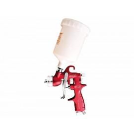 Pistola de gravedad para pintar Mikels PGP 600 roja - Envío Gratuito