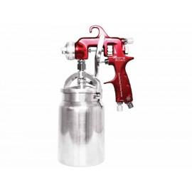 Pistola de succión para pintar Mikel s PSP 1000 roja - Envío Gratuito