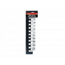 Ampro Juego de Dados Astriado Milimétrico 1 2 Pulgada T45407 - Envío Gratuito
