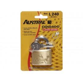 Candado Austral 200538 dorado - Envío Gratuito