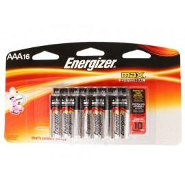 Energizer Paquete de 16 Pilas AAA - Envío Gratuito