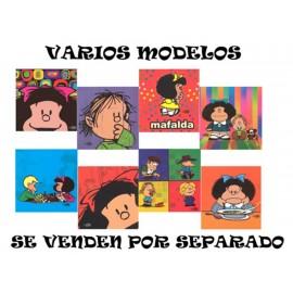 Libreta de Notas Con Imán Mafalda - Envío Gratuito