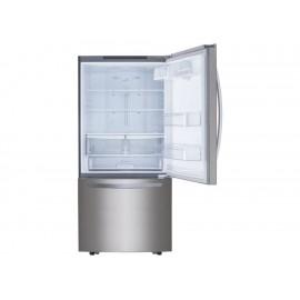 Refrigerador LG 22 pies cúbicos acero GB22BGS - Envío Gratuito
