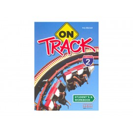 On Track American 2 Students Book And Workbook - Envío Gratuito