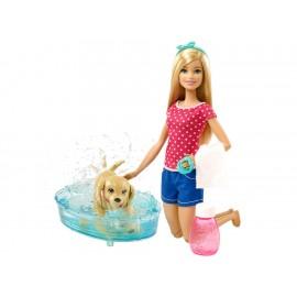Set de juego Barbie baño de perritos - Envío Gratuito