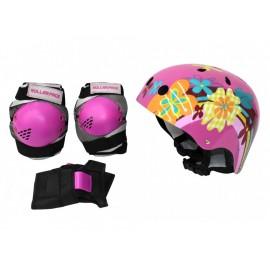 Rollerface Set de Protectores con Casco - Envío Gratuito