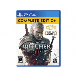 PlayStation 4 The Witcher 3 Complete Edition - Envío Gratuito