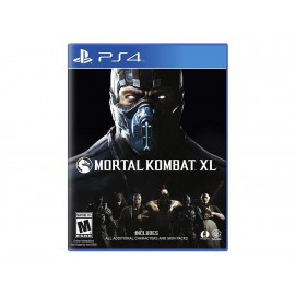PlayStation 4 Mortal Kombat XL - Envío Gratuito