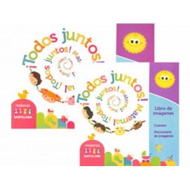 Todos Juntos Maternal Libro de Actividades - Envío Gratuito