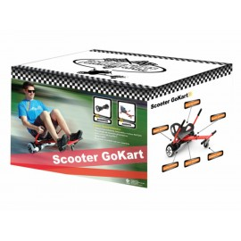 Scooter Go Kart WonderTech HoverPowered 2 en 1 - Envío Gratuito