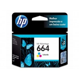 Cartucho HP Tinta 664 Tricolor - Envío Gratuito