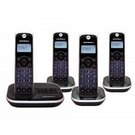 Motorola Teléfono Con Identificador De Llamadas Y Contestadora Negro Gate4500Ce - Envío Gratuito