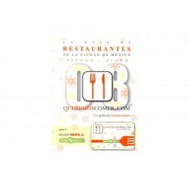 La Guía de Restaurantes de la Ciudad de México 2010 - Envío Gratuito