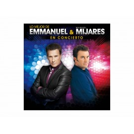 Universal Music Lo Mejor de en Concierto Emmanuel y Manuel Mijares CD - Envío Gratuito