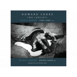 Two Concert Howard Shore Lang Lang CD - Envío Gratuito