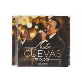 Carlos Cuevas TrilogÍa CD+DVD - Envío Gratuito