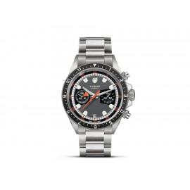 Tudor Heritage Chronograph M70330N-0001 Reloj para Caballero Color Acero - Envío Gratuito