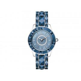 Dior Dior Christal CD143117M001 Reloj para Dama Color Azul - Envío Gratuito