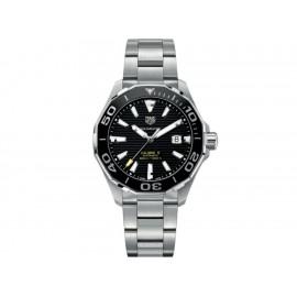 Tag Heuer Aquaracer WAY201A.BA0927 Reloj para Caballero Color Acero - Envío Gratuito