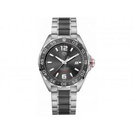Tag Heuer Formula 1 WAZ2011.BA0843 Reloj para Caballero Color Acero/Negro - Envío Gratuito