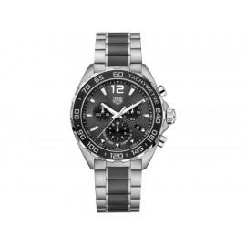Tag Heuer Formula 1 CAZ1011.BA0843 Reloj para Caballero Color Acero/Negro - Envío Gratuito