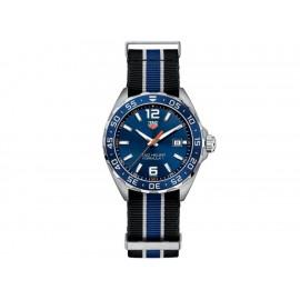 Tag Heuer Formula 1 WAZ1010.FC8197 Reloj para Caballero Color Negro/Azul - Envío Gratuito
