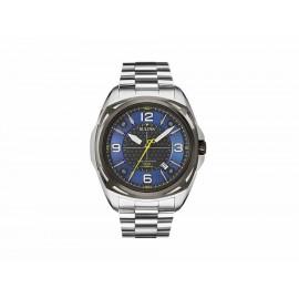 Bulova Precisionist 98B224 Reloj para Caballero Color Acero - Envío Gratuito