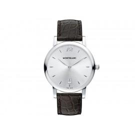 Reloj para caballero Montblanc Star Classique 108770 café - Envío Gratuito