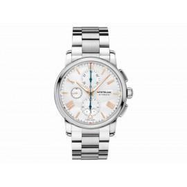 Montblanc 4810 Chronograph Automatic 114856 Reloj para Caballero Color Acero - Envío Gratuito
