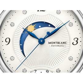 Reloj para dama Mont Blanc Bohème Day & Night 112512 negro - Envío Gratuito