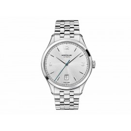 Reloj para caballero Montblanc Heritage 112532 gris acero - Envío Gratuito