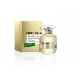Fragancia para dama Benetton United Dreams Dream Bíg 80 ml - Envío Gratuito