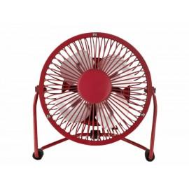 Mini ventilador Haus HF-4M rojo - Envío Gratuito