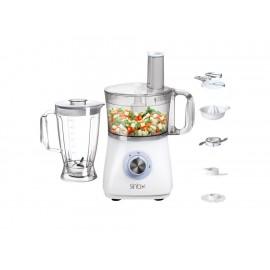 Sinbo Procesador de Alimentos Multifuncional Blanco con Gris Shb-3070 - Envío Gratuito