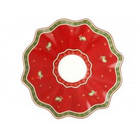 Villeroy & Boch Plato para Taza de Café Winter Bakery Delight Blanco Toy's Delight - Envío Gratuito