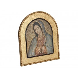 Religioso Cuadro Virgen de Guadalupe Craquelado - Envío Gratuito