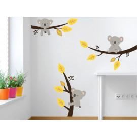 Koalas Vinilo Decorativo - Envío Gratuito