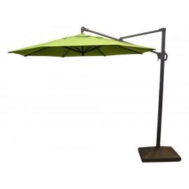 Sombrilla para jardín D Sol Xcaret-Olime verde limón - Envío Gratuito
