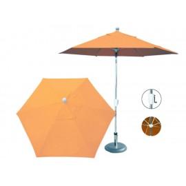 Sombrilla Market Fidgy D Sol 6 Gajos naranja claro - Envío Gratuito