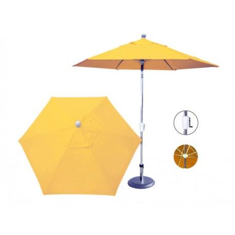 Sombrilla Market Fidgy D Sol 6 Gajos amarillo - Envío Gratuito