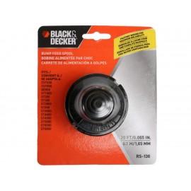 Black & Decker Carrete de Repuesto para Desbrozadora / Bordeadora Eléctrica RS-136 - Envío Gratuito